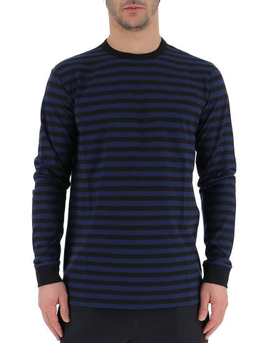 Golden Goose Deluxe Brand Striped Long Sleeves T-Shirt