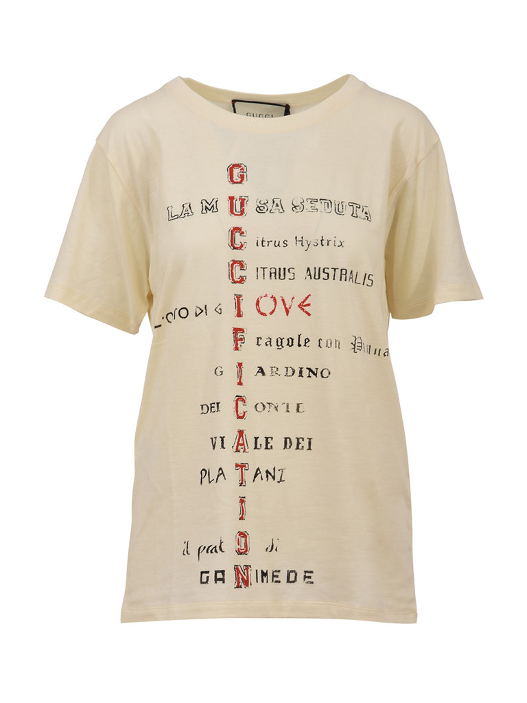 fab63748175 Gucci Guccification T-Shirt – Cettire