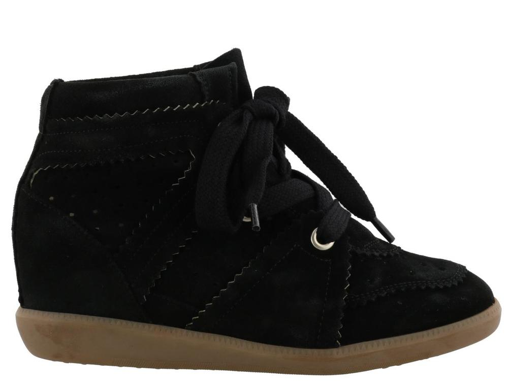 c9b1ecad21 Isabel Marant Bobby Wedge Sneakers – Cettire