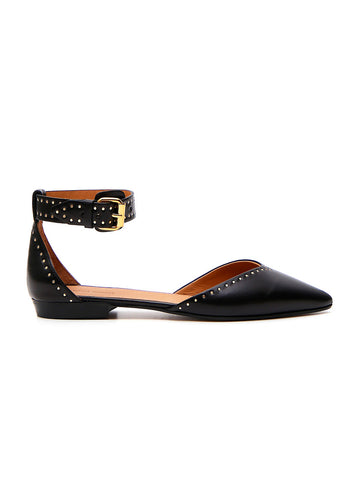 Isabel Marant Studded Ankle Strap Flats