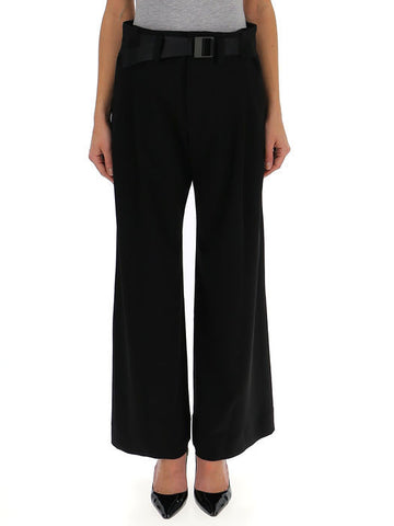 Issey Miyake Belted Cropped Trousers