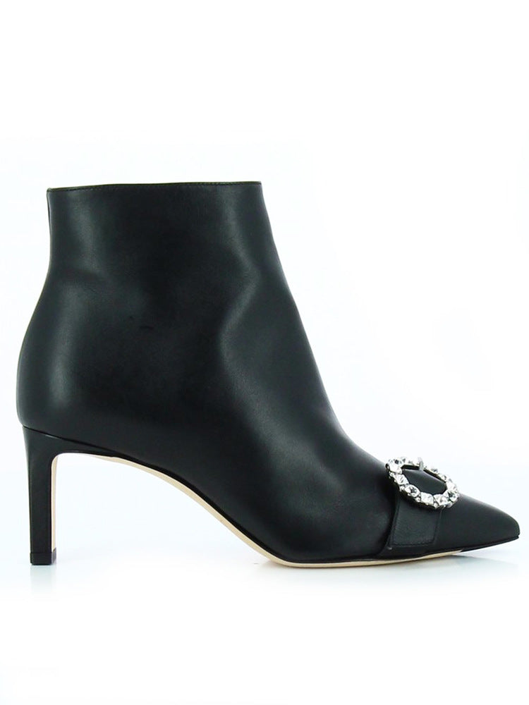 Jimmy Choo Hanover Ankle Boots in Black