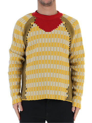 Maison Margield Color Contrasted Sweater