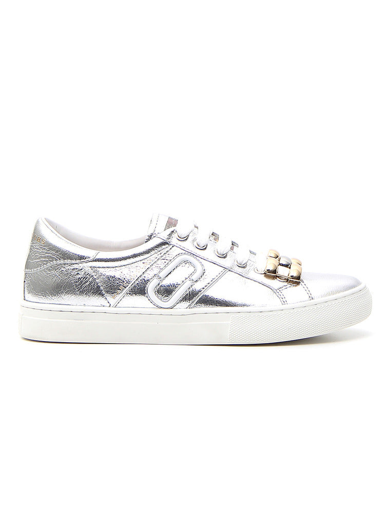 MARC JACOBS CHAIN LINK DETAIL SNEAKERS