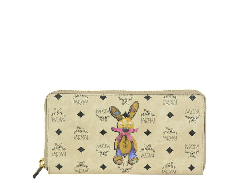 4d6b6ff6424560 MCM Rabbit Zip Continental Wallet – Cettire
