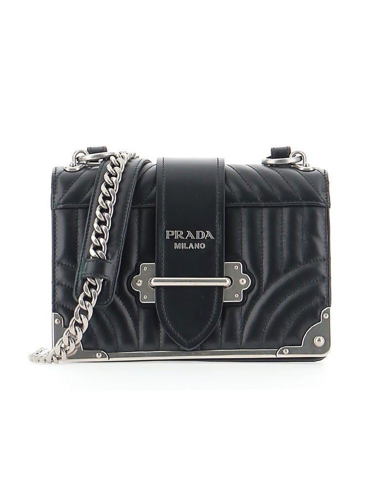 0a1d4bfd8fef Prada Quilted Cahier Shoulder Bag – Cettire