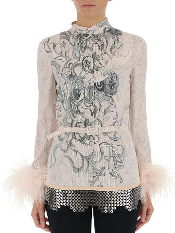 Prada Embellished Blouse