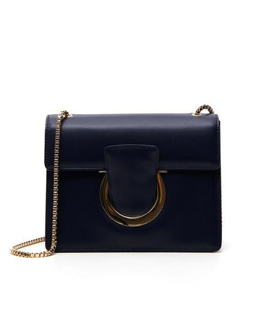 Salvatore Ferragamo Gancini Flap Crossbody Bag