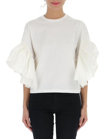 See By Chloé Flared Ruffle Sleeve Blouse