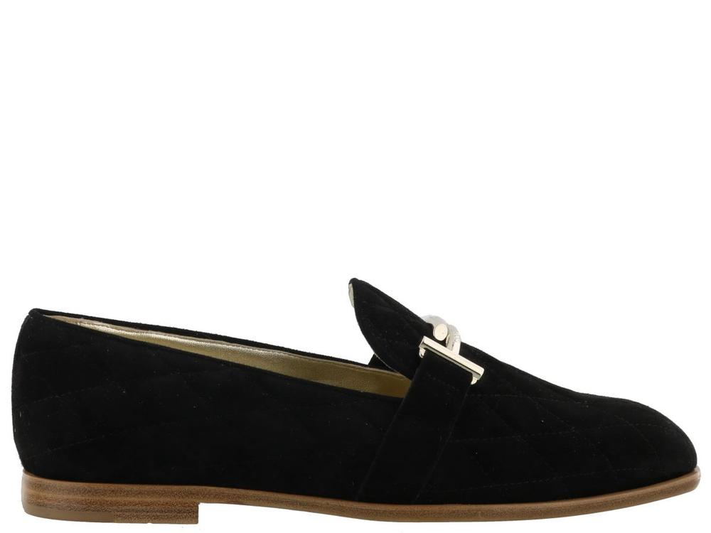 083a08f2517 Tod s Quilted Double T Loafers – Cettire