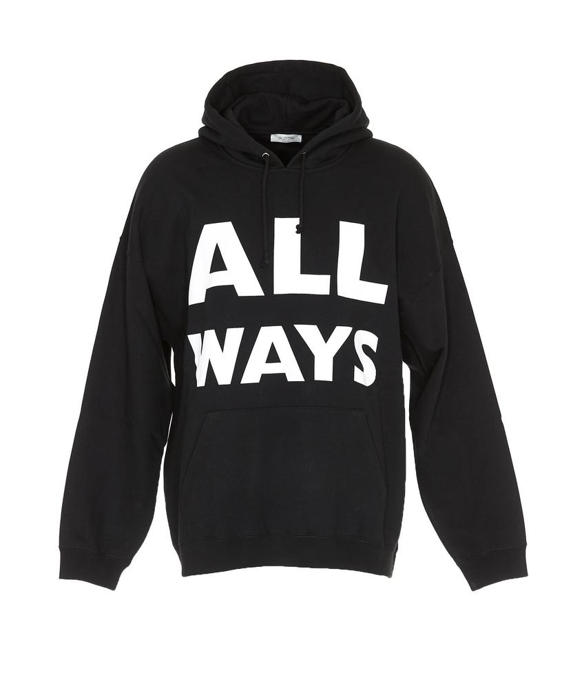Clearance Best Store To Get All Ways hoodie - Black Valentino Cheap Top Quality Looking For Online Cheap Pre Order Outlet Footaction 49uKyAz