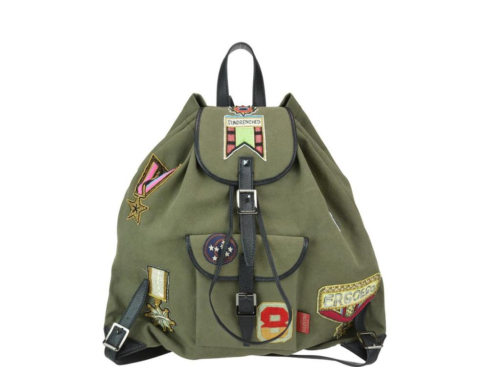 Valentino Garavani Patched Backpack