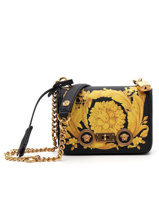Cheap Wiki Free Shipping Purchase Versace patterned Medusa shoulder bag Outlet Low Price rQmcjZW
