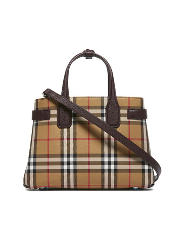 Burberry Small Banner Top Handle Bag