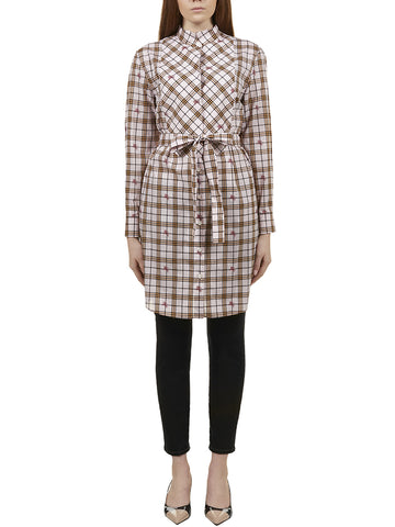Burberry Equestrian Knight Printed Dress