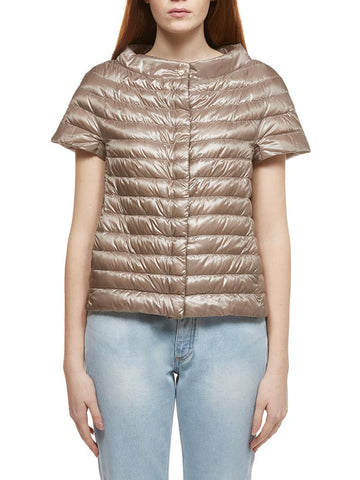 Herno Quilted Short-Sleeve Jacket