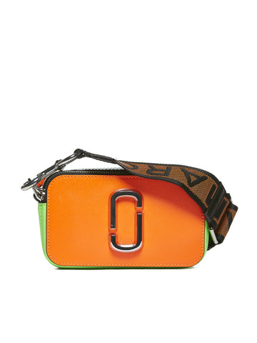 Marc Jacobs Fluoroscent Logo Strap Camera Bag