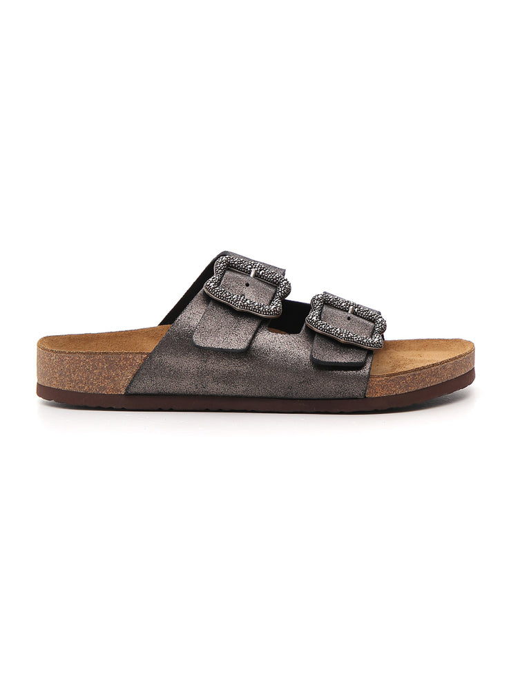 Marc Jacobs Double-Buckle Slides