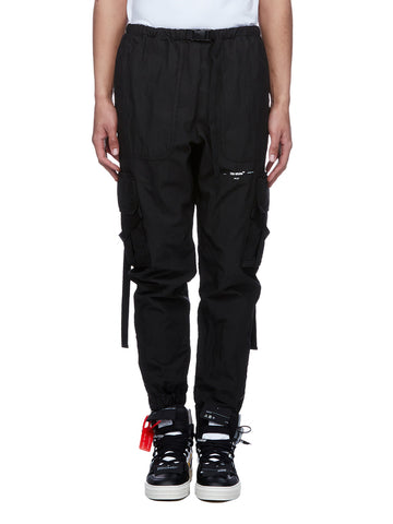 Off-White Buckled Relaxed Pants