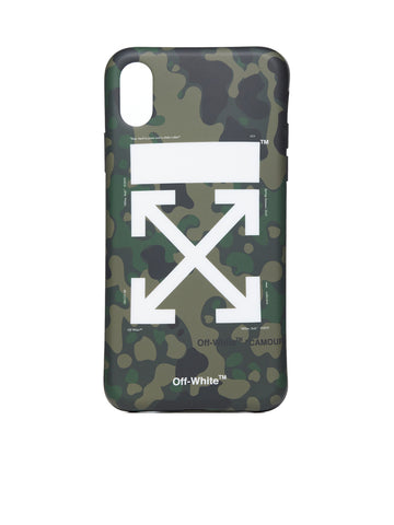 Off-White Camouflage iPhone X Case