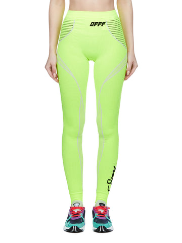 Off-White Logo High-Waisted Leggings