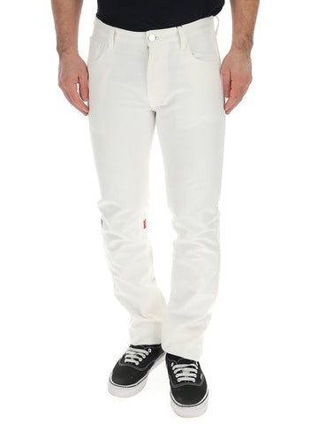 Raf Simons Boot Cut Straight Jeans