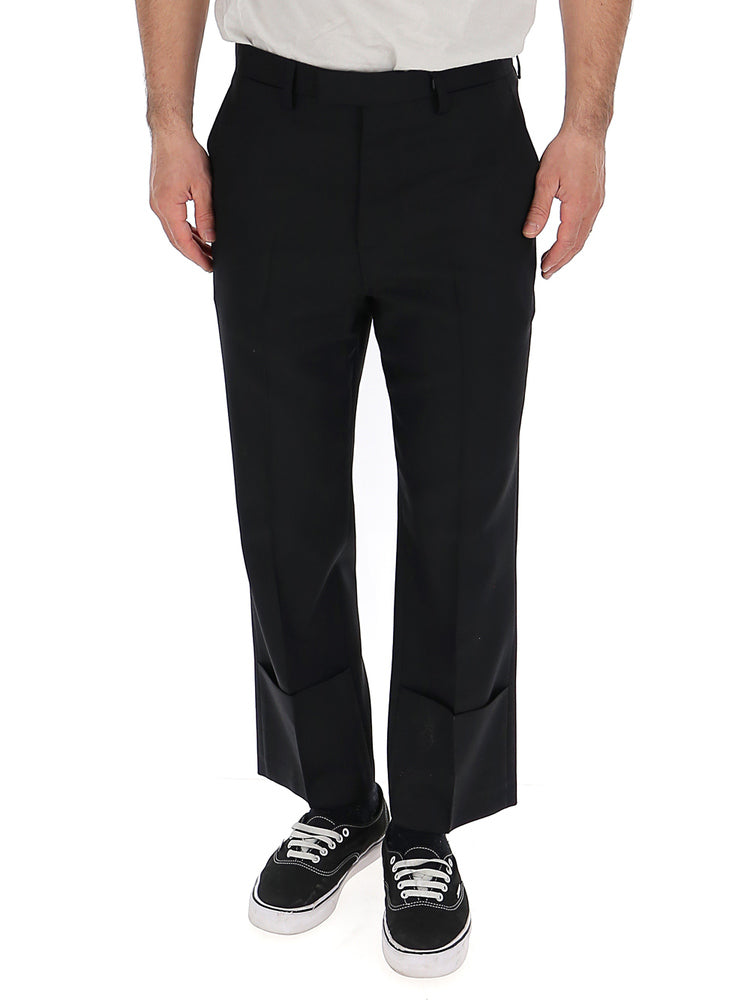 Raf Simons Pants RAF SIMONS SLIM FIT TURN UP TROUSERS