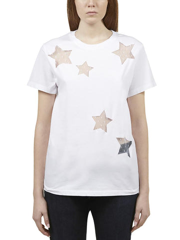 Red Valentino Star Panel T-Shirt
