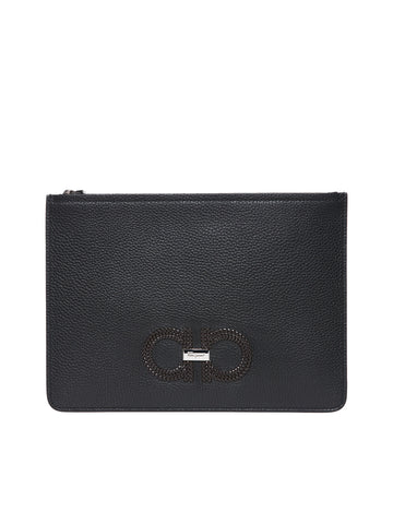 Salvatore Ferragamo Document Holder Clutch Bag