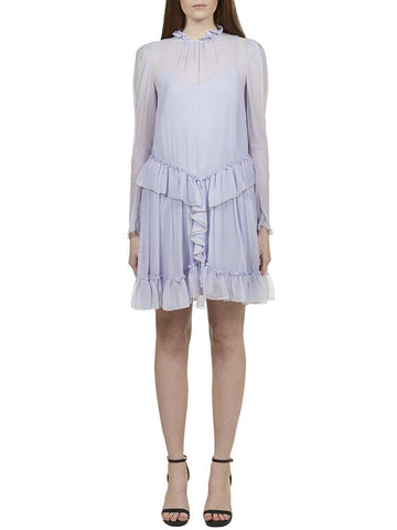 See By Chloé Ruffled Overlay Dress