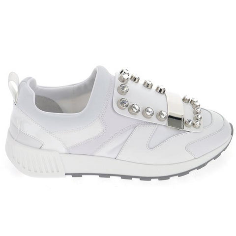 Sergio Rossi Embellished Running Sneakers