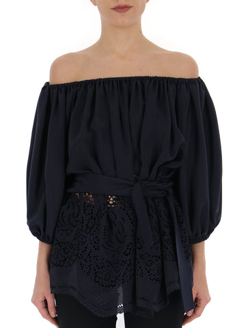 Stella McCartney Cold-Shoulder Blouse