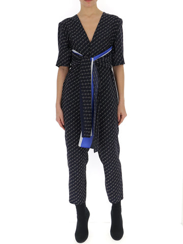 Stella McCartney Logo Print Jumpsuit