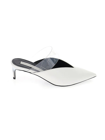 Stella McCartney PVC Pointed Toe Mules