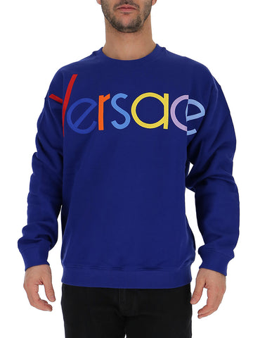Versace Colourful Logo Sweater