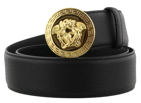 Versace Medusa Plaque Belt