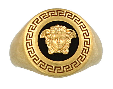 Versace Medusa Embossed Ring