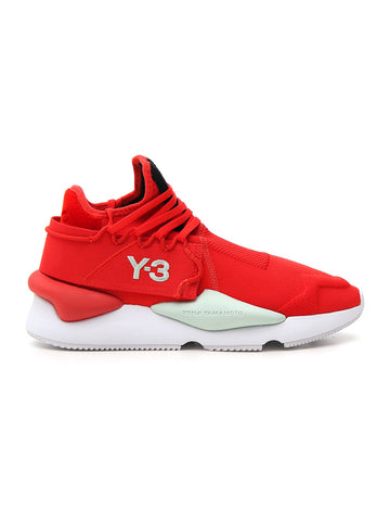 Y-3 Kaiwa Knit Low-Top Sneakers