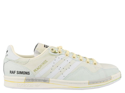 watch d2598 8aa4c Adidas By Raf Simons Peach Stan Smith Trompe L oeil Sneakers