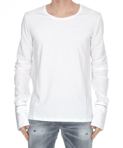 Alexander McQueen Zipped Cuffs T-Shirt
