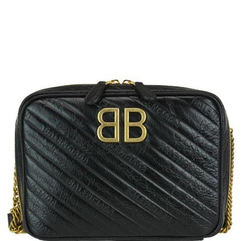 Balenciaga BB Logo Crossbody Bag