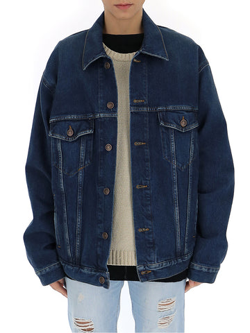 Balenciaga You Are The World Denim Jacket