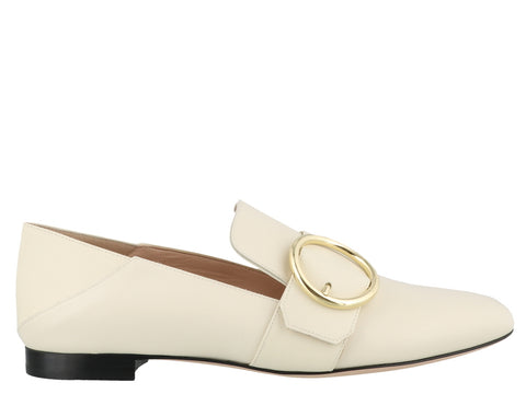 Bally Lottie Buckled Loafers