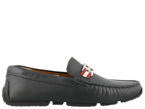 Bally Pisan Buckle Loafers