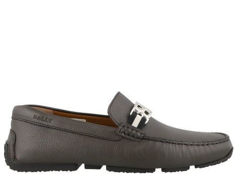 Bally BB Buckle Loafers