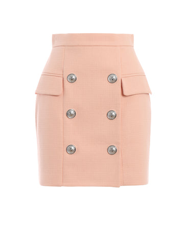 Balmain Double-Breasted Skirt