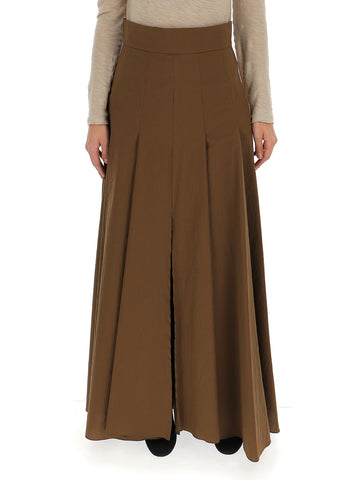 Brunello Cucinelli Pleated Maxi Skirt