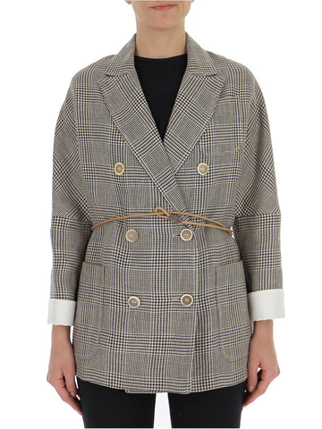 Brunello Cucinelli Checked Jacket