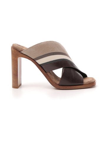 Brunello Cucinelli Block Heel Sandals