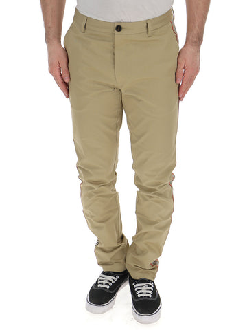 Burberry Side Striped Chino Pants